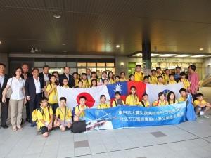 世總名譽總會長盧起箴邀請國語實小弦樂團到日本仙台進行音樂交流