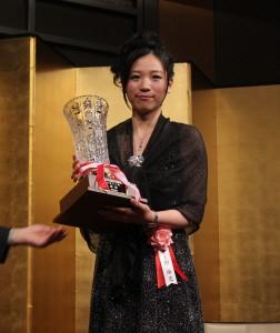 女流棋士史上初の7連覇を成し遂げた謝依旻さん