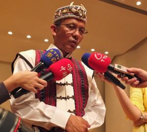 台灣原聲童聲合唱團團長馬彼得表示,擔任榮譽團長的總統夫人周美青相當關心高雄氣爆事件