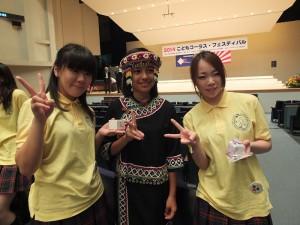 日本小朋友對於原聲的小朋友的歌聲都讚不絕口