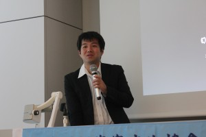 「ベトナム客家の移住とアイデンティティ—ンガイ人に関する覚書—」を講演した国立民族学博物館・河合洋尚教授