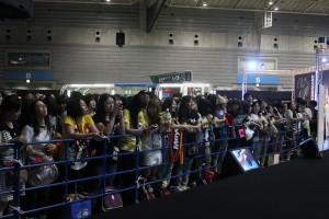 トークイベントには沢山のファンが集まった