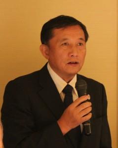 東京華僑商工連合会・高博恭代表理事