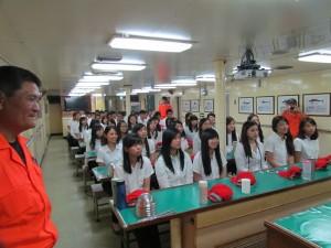 此次共有53位實習生接受訓練