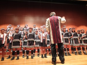 原聲童聲合唱團特別演出,以清澈嘹亮的歌聲征服台下聽眾
