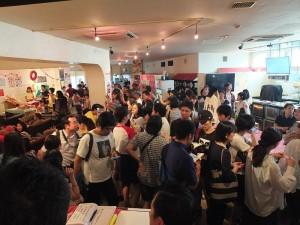 「Taiwanderful」現場也有許多藝文活動和台灣美食讓現場民眾徹底體驗台灣文化