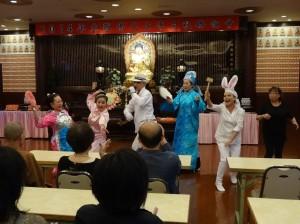 會員表演歌舞劇 嫦娥奔月