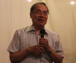 「政治は人を別つが文学は人をまとめる」と語る陳芳明氏
