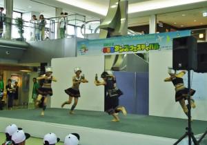莊敬國小舞蹈團表演「銀河月下的祭典」