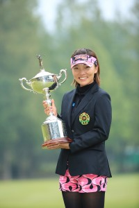 日本女子オープンで優勝を収めたテレサ・ルー(写真提供:日本ゴルフ協会)