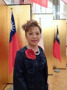 亞洲台灣商會聯合總會總會長謝美香