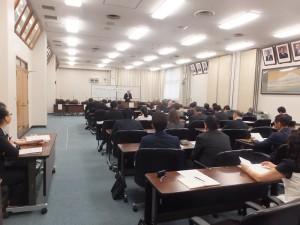 現場有超過50位議員及市政府官員聆聽演講