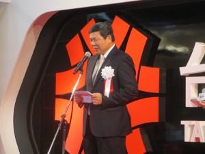 台湾貿易センターの葉明水副秘書長
