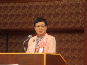 台湾から国立故宮博物院の馮明珠院長