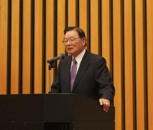台日経済貿易発展基金会・江丙坤理事長