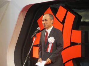 台北駐日経済文化代表処の余吉政副代表