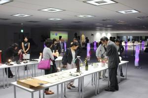 台北ナイトの会場には台湾デザイナーの作品も展示された