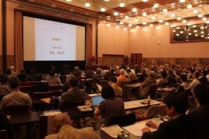 特別シンポジウム「台湾の明日への展望~TPPとRCEP参加の意義に関して~」には100人をこえる聴衆が集まった