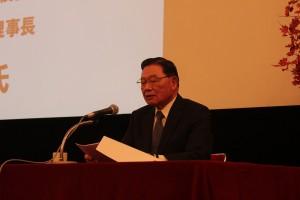 台湾経済研究院の江丙坤理事長