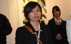 来日した台湾人作家の張婷雅さん