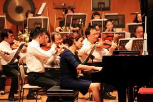国際的ピアニストのアンナ・ヴィニツカヤ(写真提供:台北市立交響楽団)