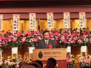 駐日副代表致詞肯定橫濱台灣同鄉會為民服務的表現