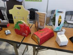 台湾企業epackageはデザイン性に優れたパッケージをアピールした。