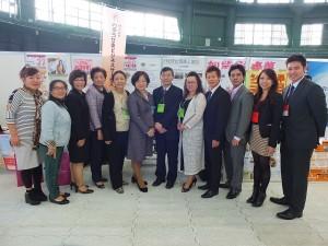 東京台湾商工会議所メンバーも琉球台湾商工協会の応援に駆け付けた