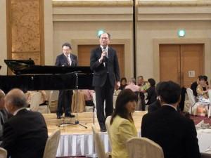 駐橫濱辦事處處長粘信士表示台日間透過音樂交流,成功促進雙方親善友好