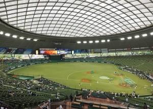 西武王子巨蛋是日本職棒埼玉西武獅隊的主場