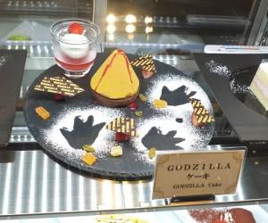 新宿Gracery飯店8樓大廳咖啡廳特別推出哥吉拉蛋糕
