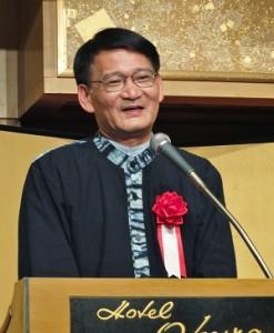行政院客家委員會主任委員劉慶中再次率團到日參加東京崇正公會的會員大會,表達政府支持客家文化發展的決心