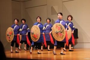 客家文化を代表する油紙傘を用いた舞踊