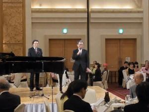 橫濱市副市長渡邊巧教致詞