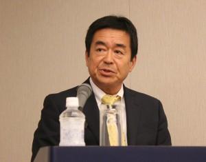日本マリン事業協会の藤野一秀事務局長