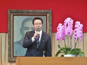 千代田小學校長淺岡壽郎表示今後也會繼續和東京中華學校進行交流