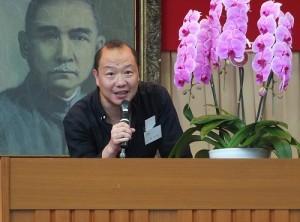 東京中華學校迎新園遊會是由家長會主辦,家長會長林信安特別致詞感謝家長抽空參與