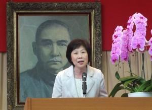 駐日代表處僑務組副組長謝妙玟表示現場熱鬧氣氛,足以證明大家踴躍參與學校活動