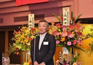 新任會長松本純表示會承襲該會歷史傳統,續為台日交流貢獻
