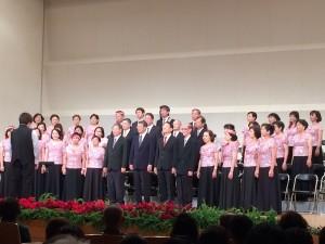 台灣合唱團演唱