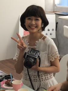 台湾人若手写真家兼モデルのRuiこと陳思瑾 (チェン・スージン)さん。