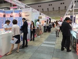 台湾パビリオンには台湾企業5社が出展