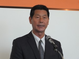 テレサの兄であり鄧麗君文教基金会理事長の鄧長富さん