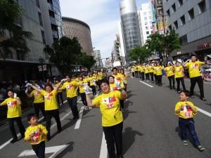 士氣高昂的台灣團隊