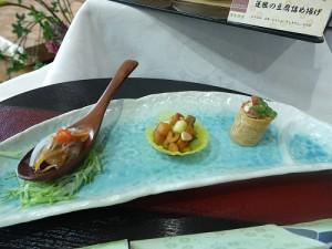會的日本賓客對於創意素食料理的色香味俱全,感到相當驚艷