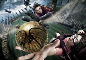 3D版的影像讓消費者更有身歷其境的感受,連搶鮮體驗的SMAP成員們也讚不絕口(™ & © Warner Bros. Entertainment Inc. Harry Potter Publishing Rights © JKR. (s15))