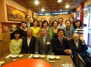 京都華僑總會會員與來賓合影