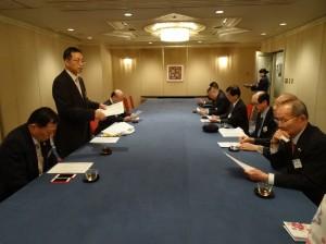 近大校友會中華民國在日支部 會長張碧華主持理監事會議