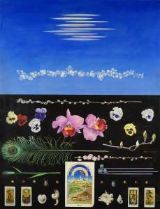 立石氏の作品「春(1973年)」(提供:泰明画廊)