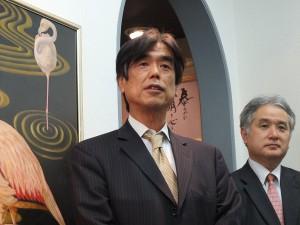 泰明画廊の壇上正憲社長